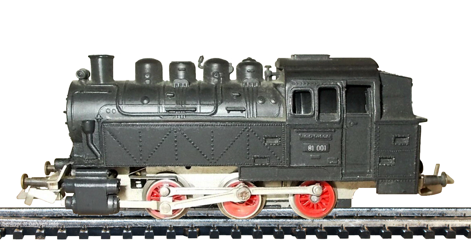 159/78 Tenderlokomotive BR 80 (BR 81) DR/III START