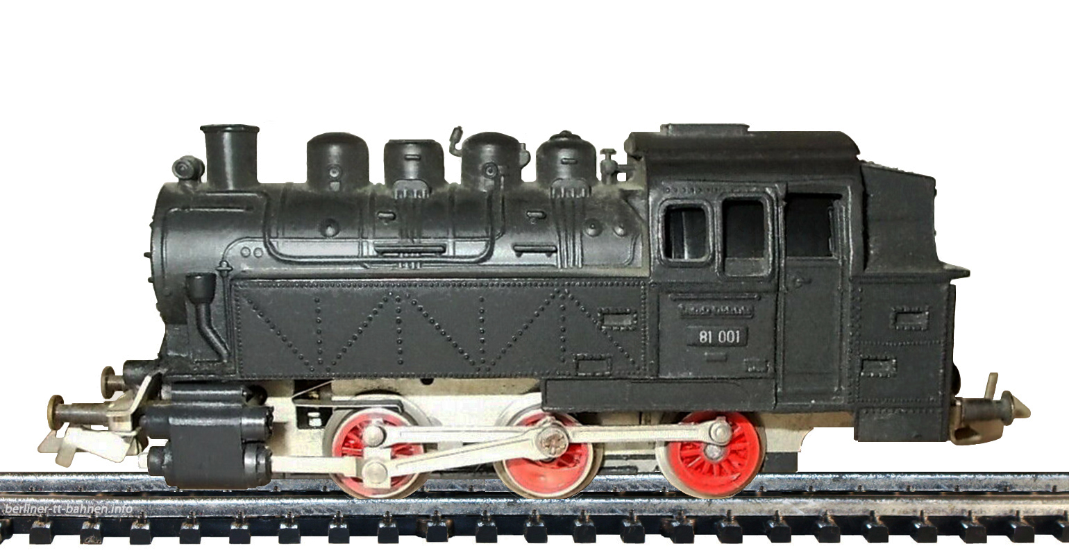 545 / 78  Tenderlokomotive BR 80 (BR 81) DR/III START