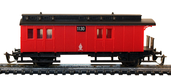 03440 Post-/Gepäckwagen Pw Post Pr92 KPEV 1130 rot