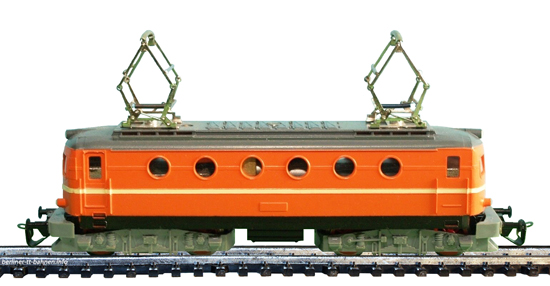 Elektrolokomotive E 499 orange (Goodplay Quelle SET)