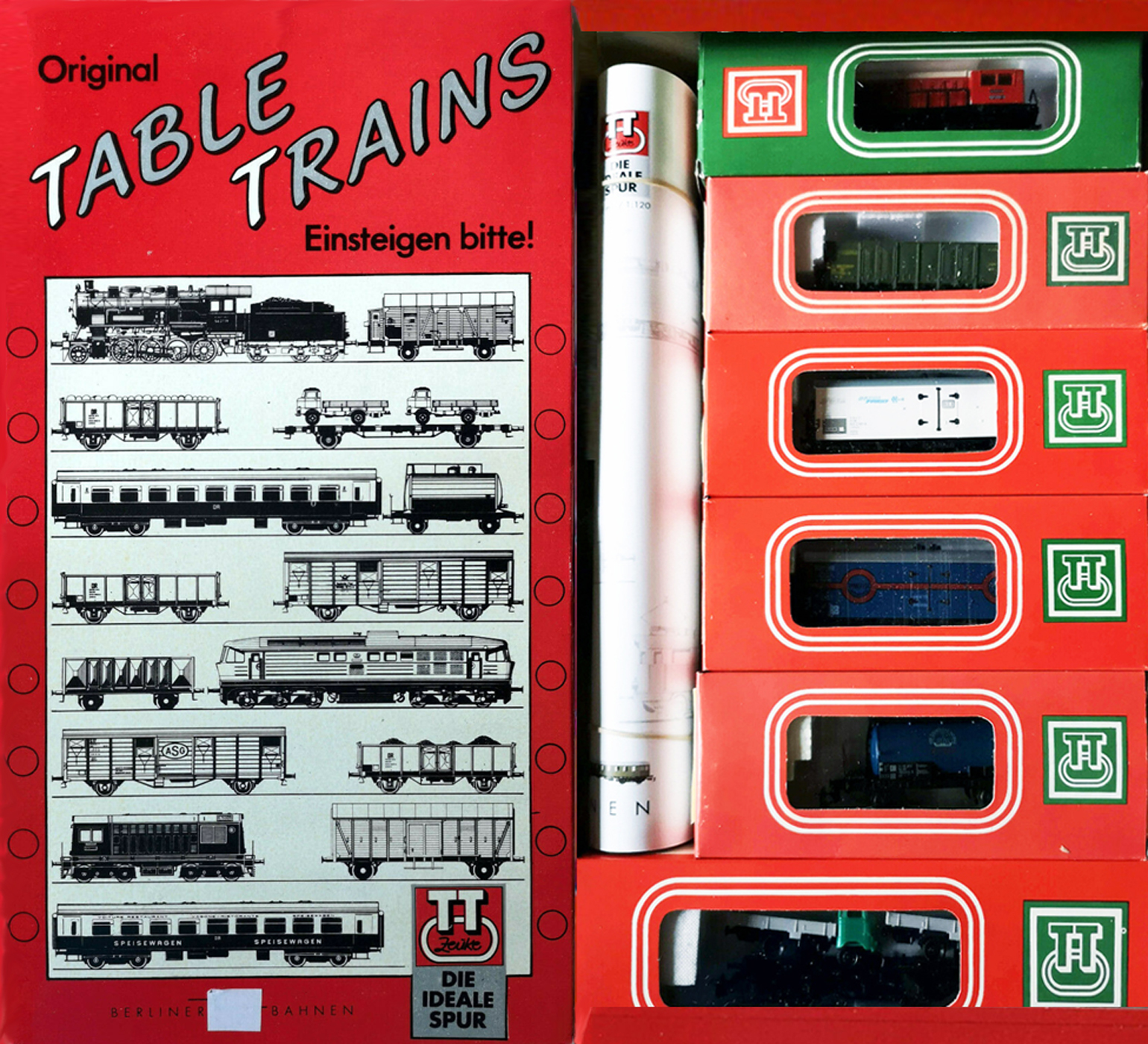 01249 BTTB - Original Table Trains-SET