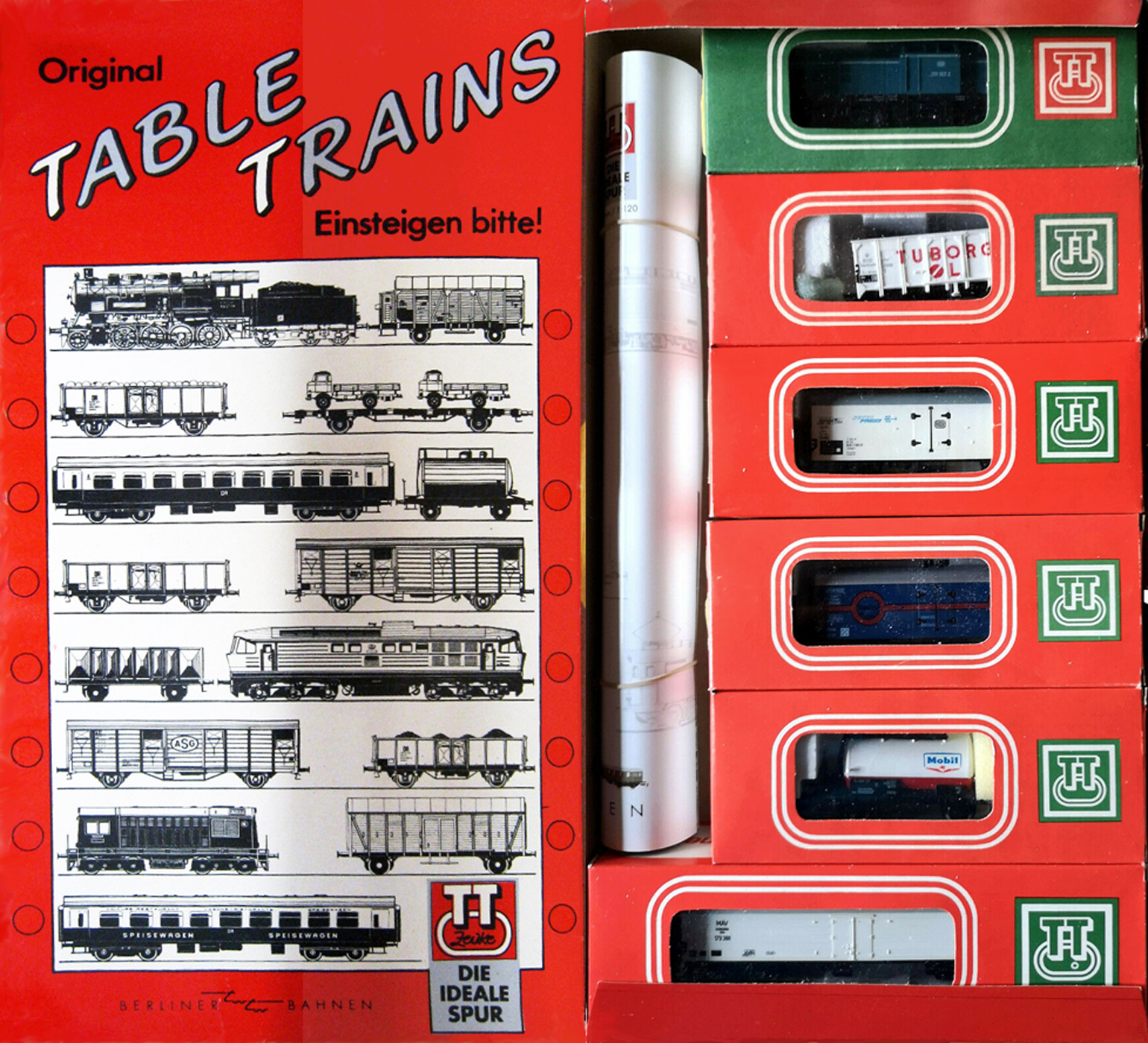 01250 BTTB-Zeuke  Original Table Trains-SET