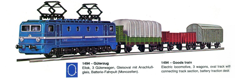 01494 START Güterzug-SET